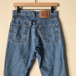 Levi's | Vintage 550's High Waisted Mom Jeans